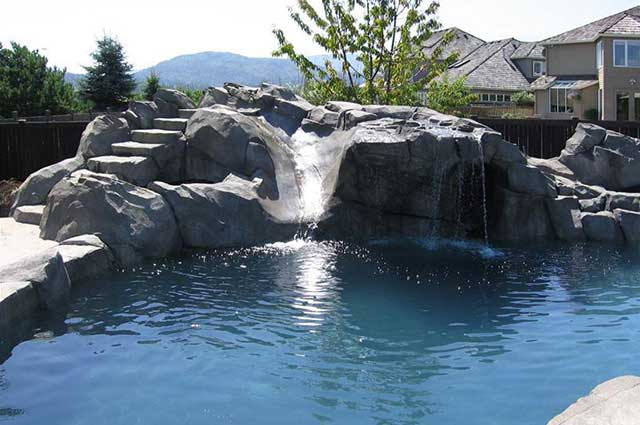 From Water Slides To Caves A Short Guide To Spicing Up Your Pool With A Grotto Krisco Aquatech Pools Spas